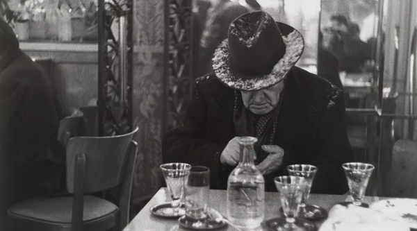 Louis Stettner, Photograph, Man, Christmas, New York Times