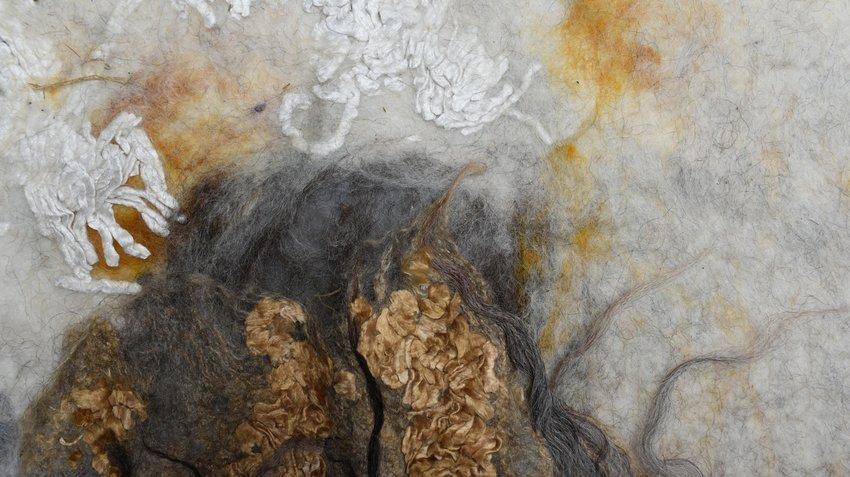 Artwork image, Claudy Jongstra's Aarde