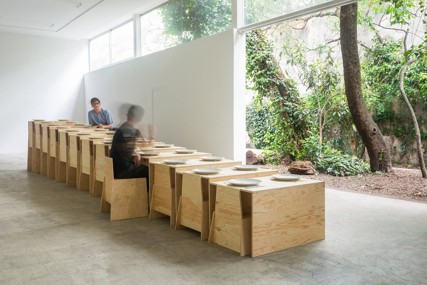 Steps Table installation view