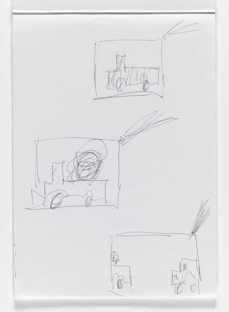 Nam June Paik, Untitled, from Untitled Notebook, 1980 page 31