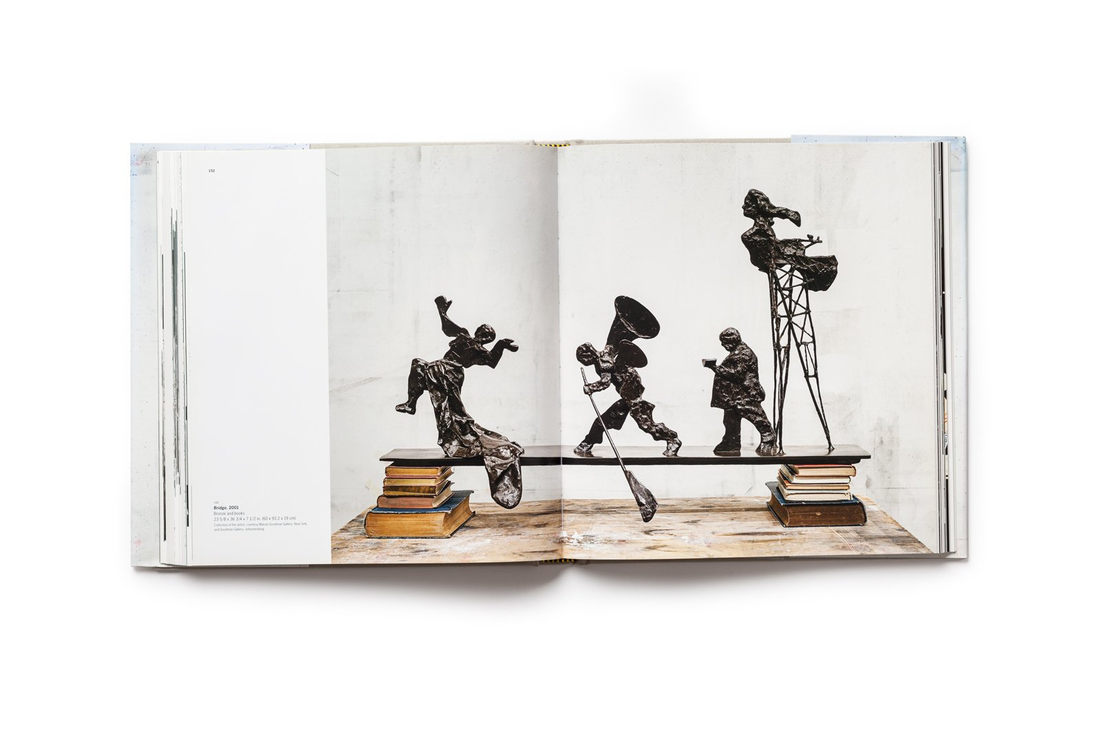 William Kentridge publication pages 152-153