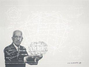 Buckminster Fuller print