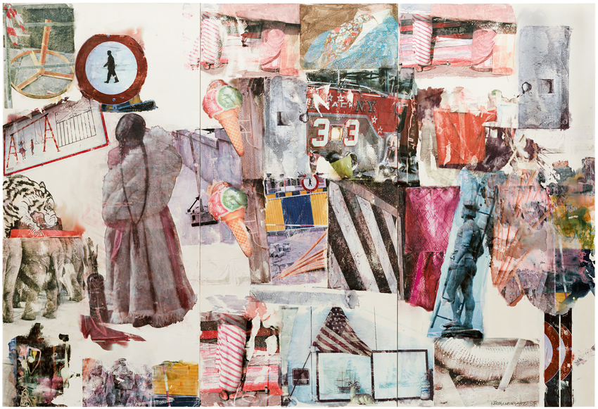 Artwork image, Robert Rauschenberg, Port of Entry