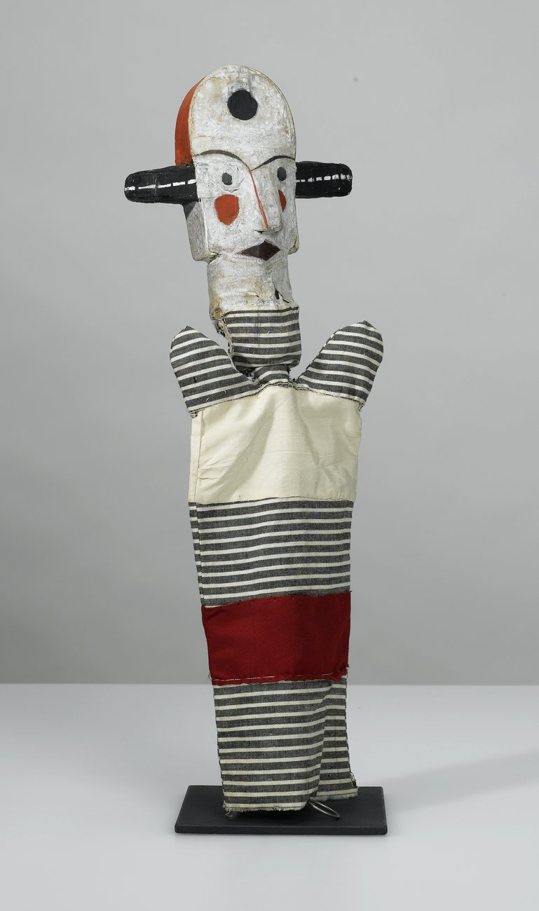 Artwork image, Paul Klee, Ohne Titel (Breitohrclown) (Untitled [Big-Eared Clown])