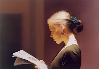Richter, woman reading