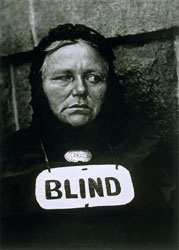 paul strand photograph of blind woman