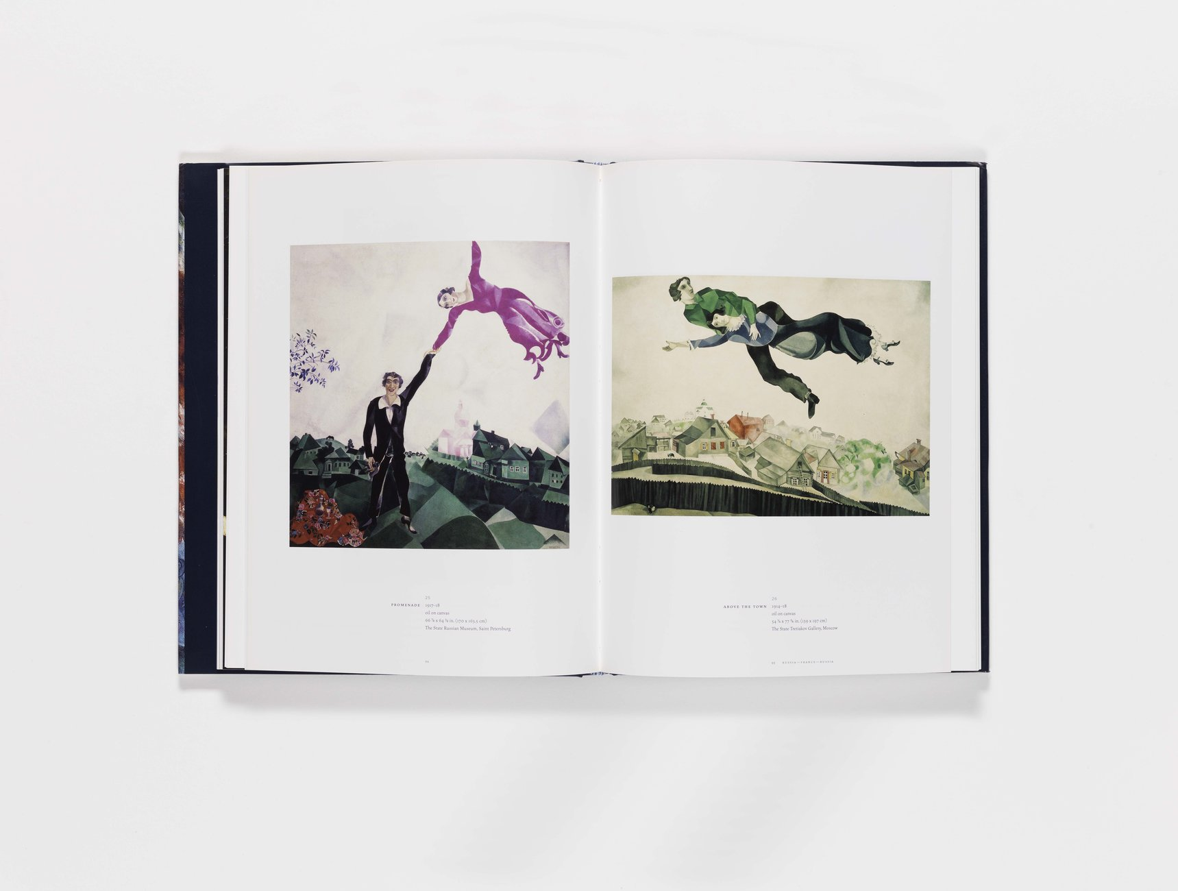 Marc Chagall publication pages 94-95