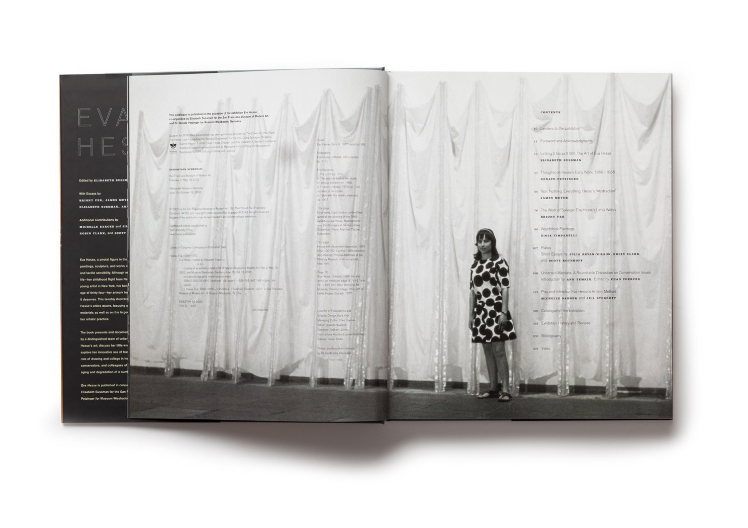 Eva Hesse publication table of contents