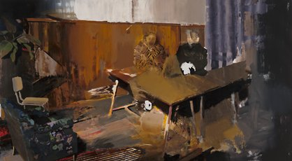 Adrian Ghenie, The Trial