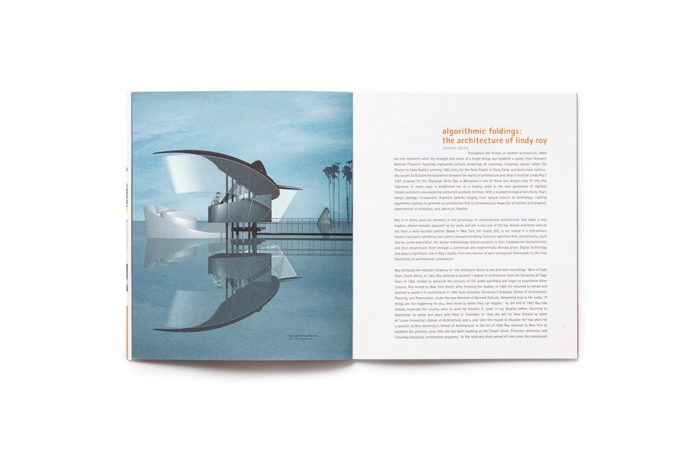 ROY: design series 1 publication pages 6-7