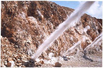 A color photograph of a dust blast, Naoya Hatakeyama