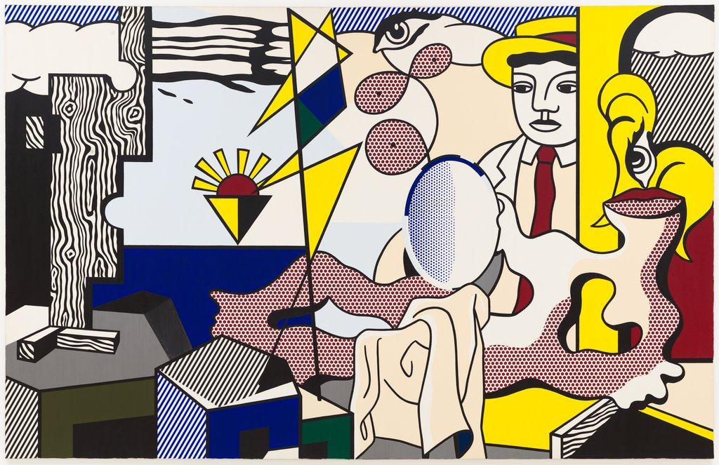 Artwork image, Roy Lichtenstein