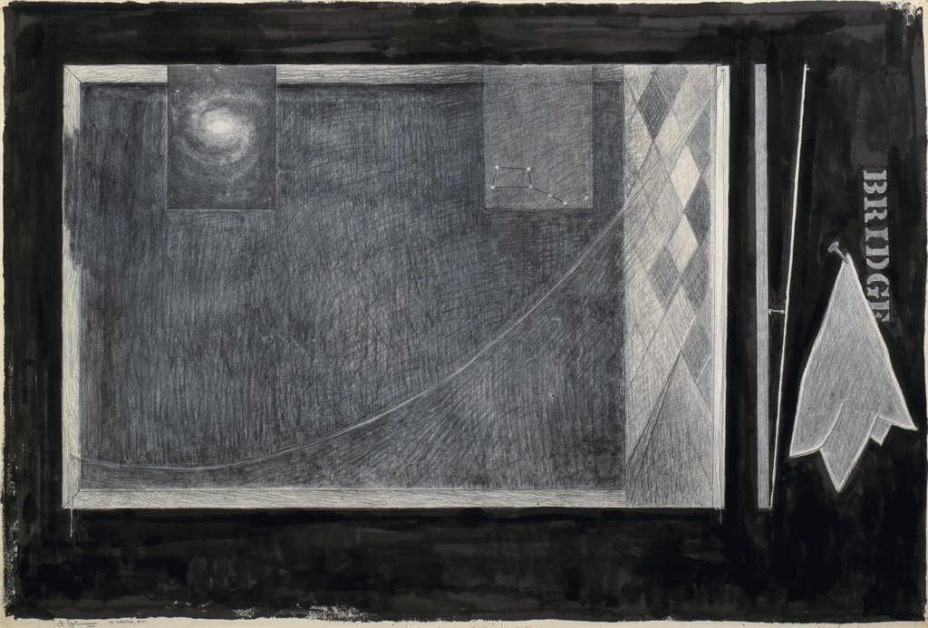 Artwork image, Jasper Johns, Bridge