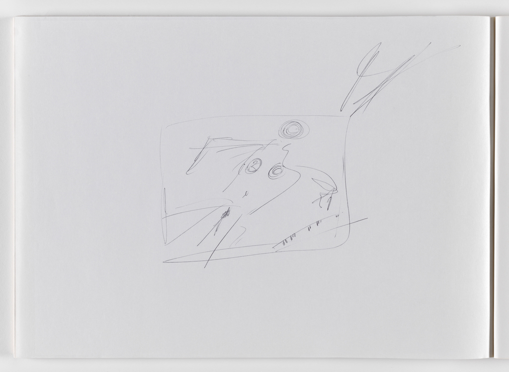 Nam June Paik, Untitled, from Untitled Notebook, 1980 page 8