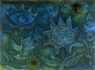 Paul Klee, blossoms in the night