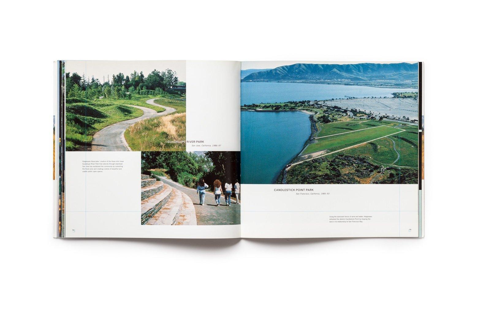 Revelatory Landscapes publication pages 74-75