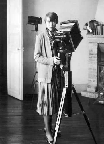 Portrait of Berenice Abbot