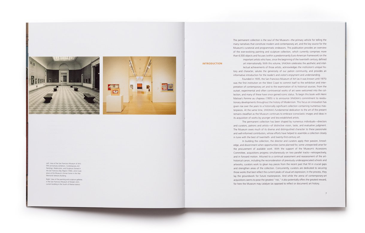 SFMOMA Painting and Sculpture, pp. 6-7