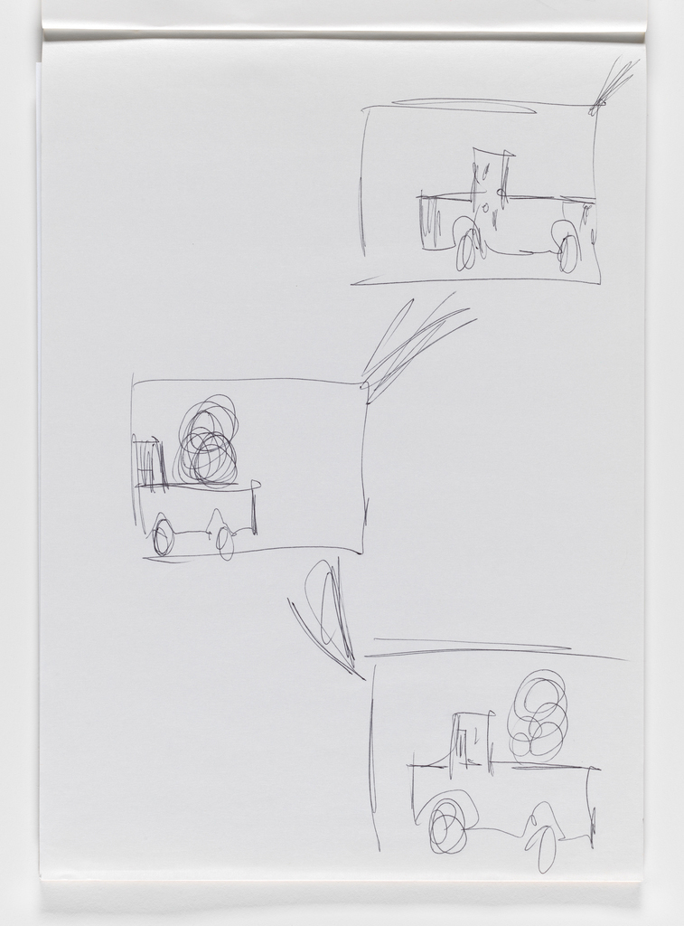 Nam June Paik, Untitled, from Untitled Notebook, 1980 page 32
