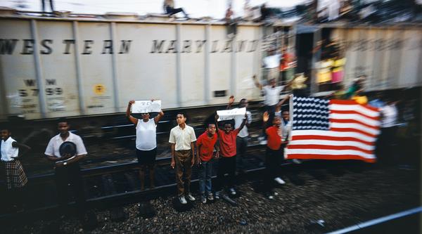 Bobby Kennedy, The Train: