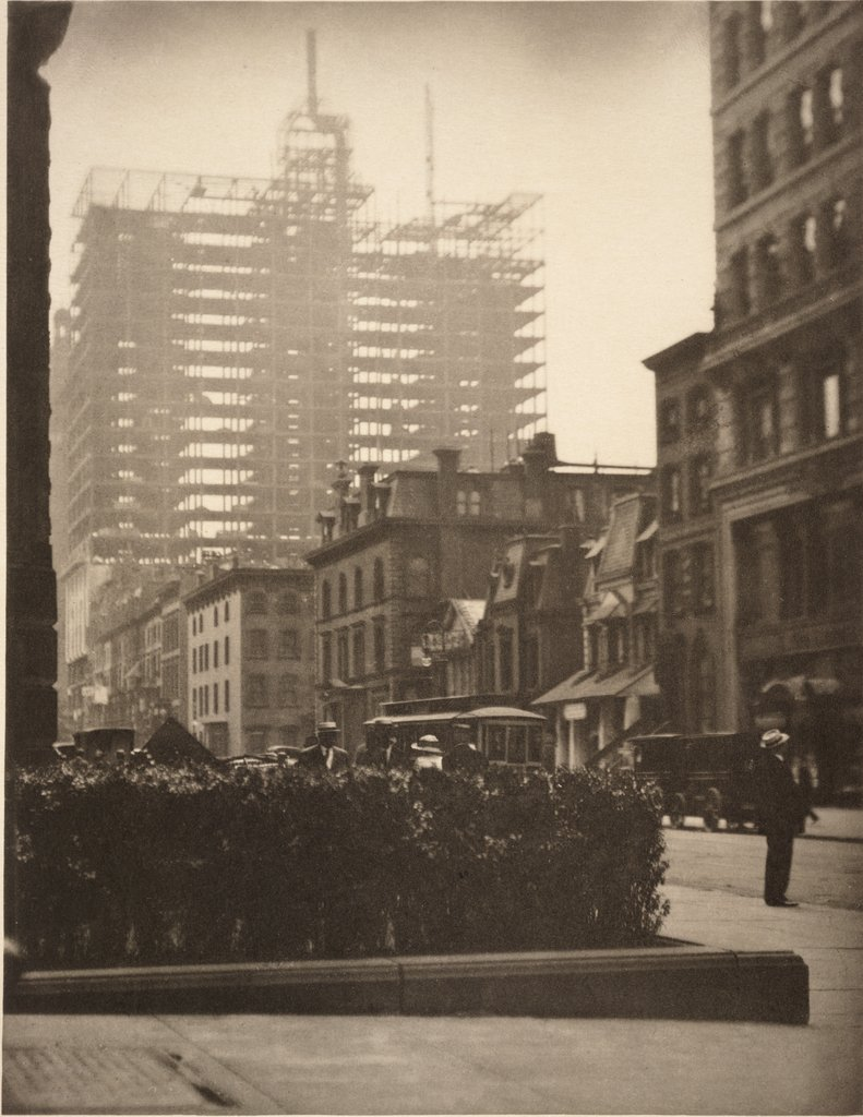 Artwork image, Alfred Stieglitz, Old and New New York