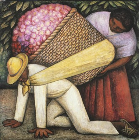 Diego Rivera's The Flower Carrier, 1935