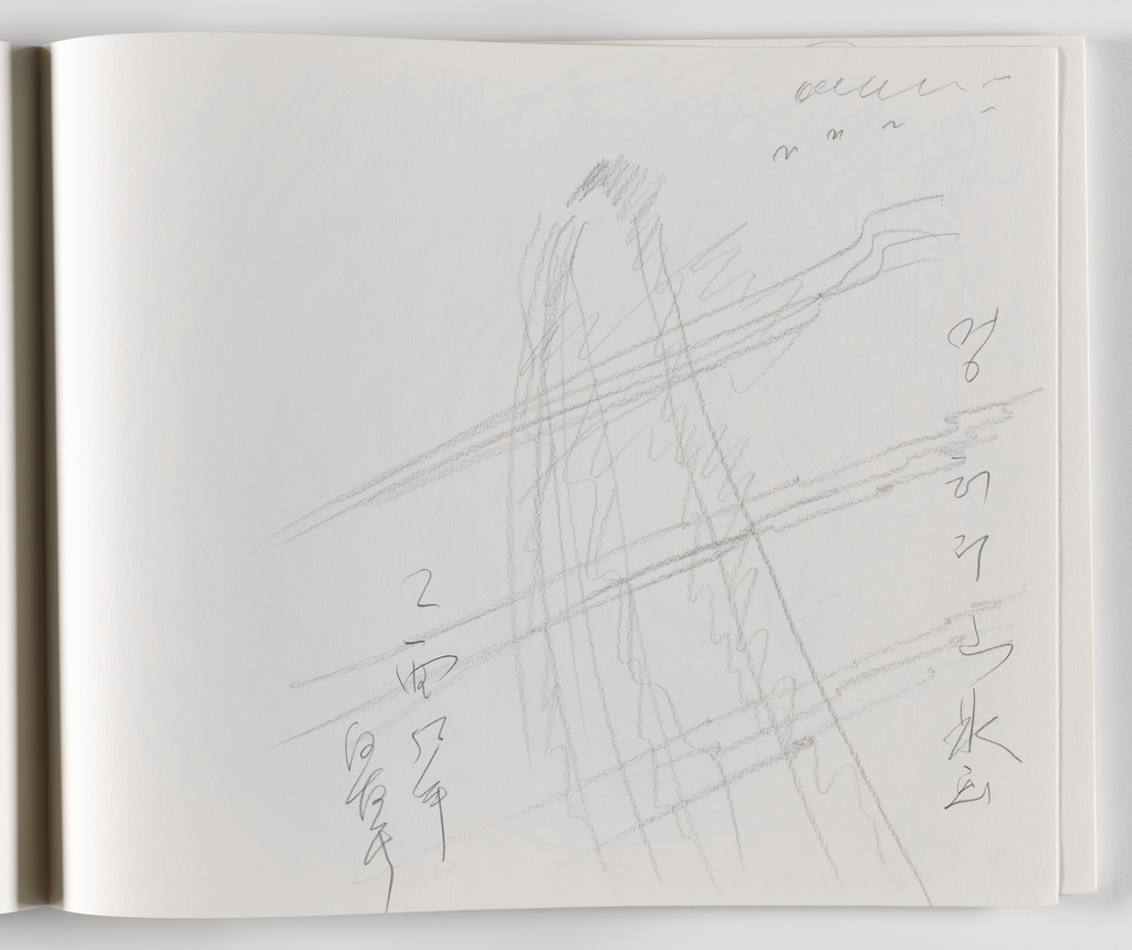 Nam June Paik, A Drawing Notebook, 1996 page 9