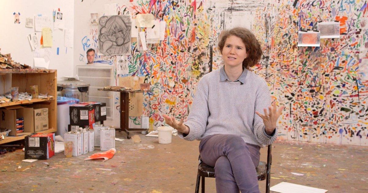 Dana Schutz On The Personalities Of Paintings 183 Sfmoma
