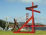 Mark di Suvero at Crissy Field Member Stroll and Tour