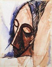 Picasso, Head in Three-Quarter View