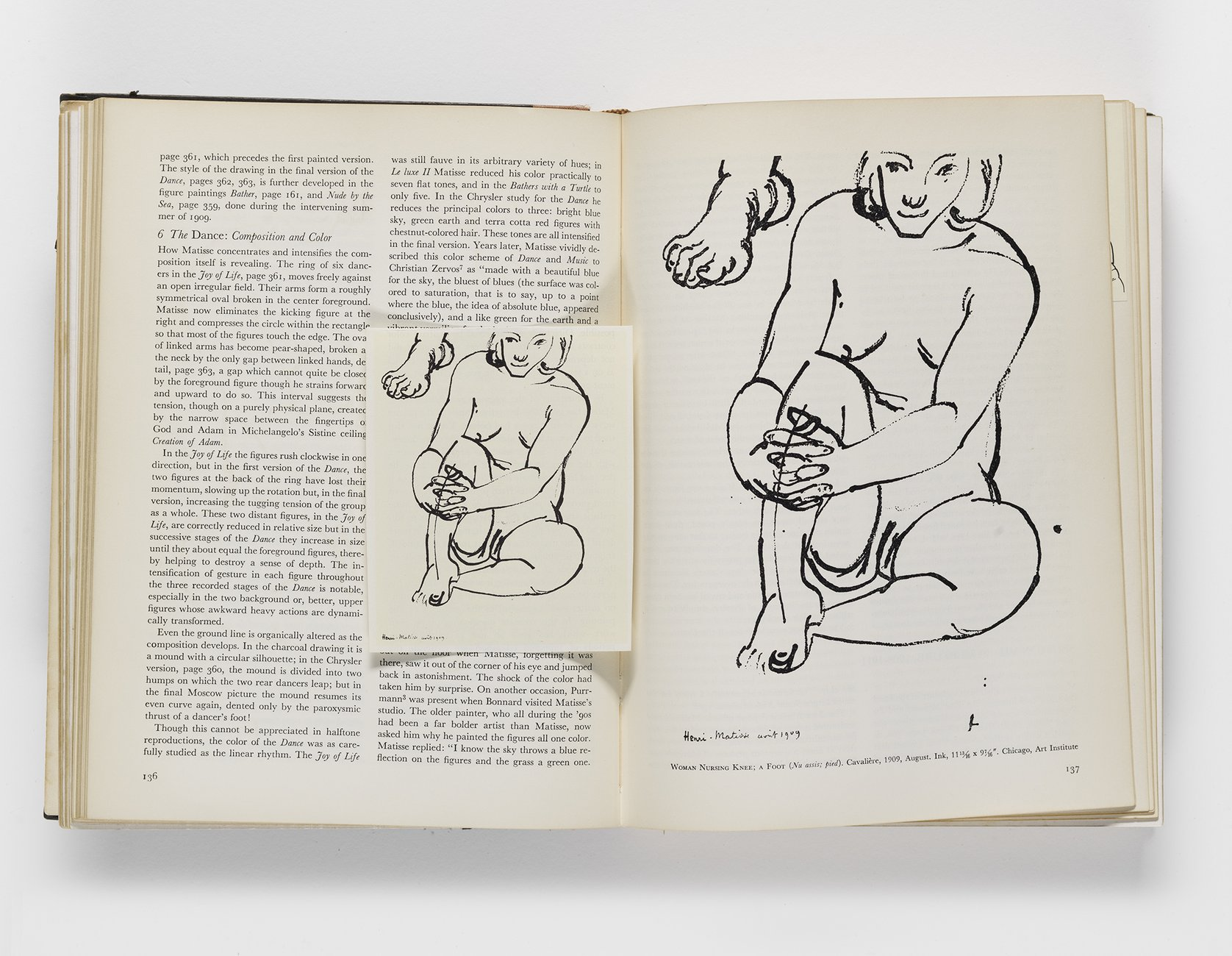 ​Alfred Barr, ​Matisse: His Art and His Public​, 1951 (pp. 136-137)