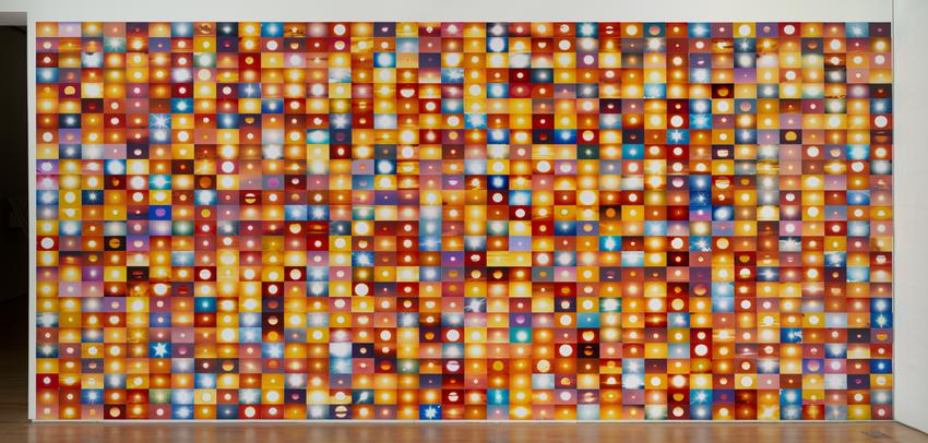 Umbrico Suns... installation, 2010