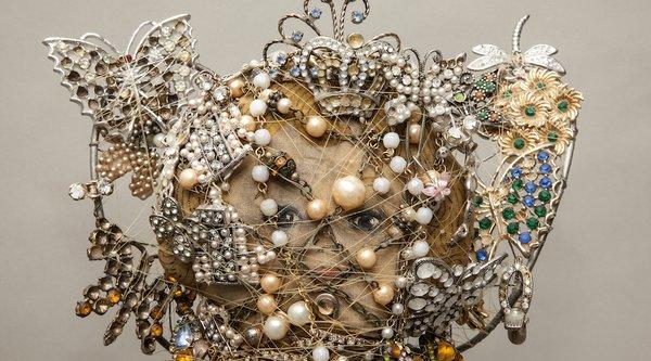 Nancy Youdelmen Butterfly Queen detail shot