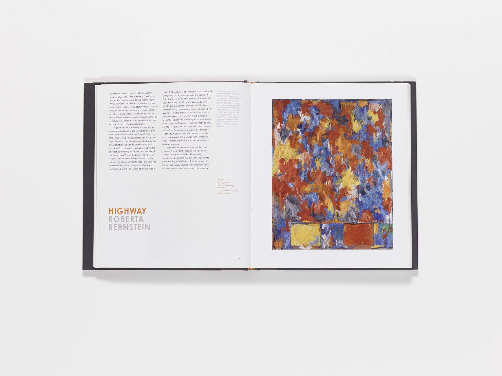 Jasper Johns publication pages 38-39
