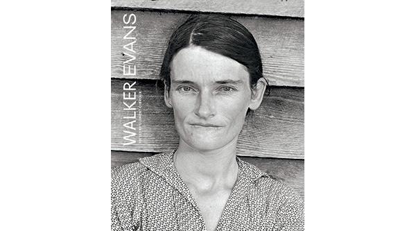 Cover of Walker Evans exhibition catalogue