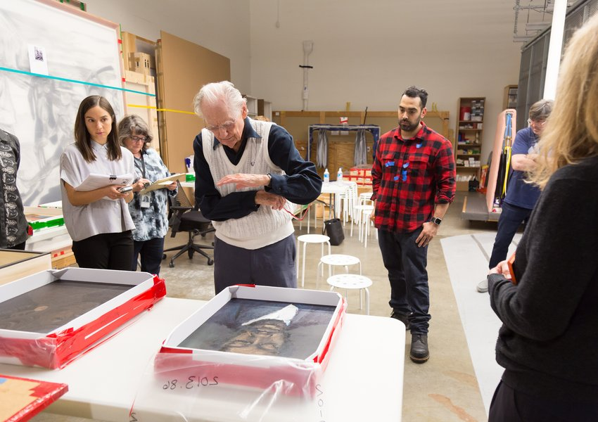 Wayne Thiebaud Viewing Object Selection