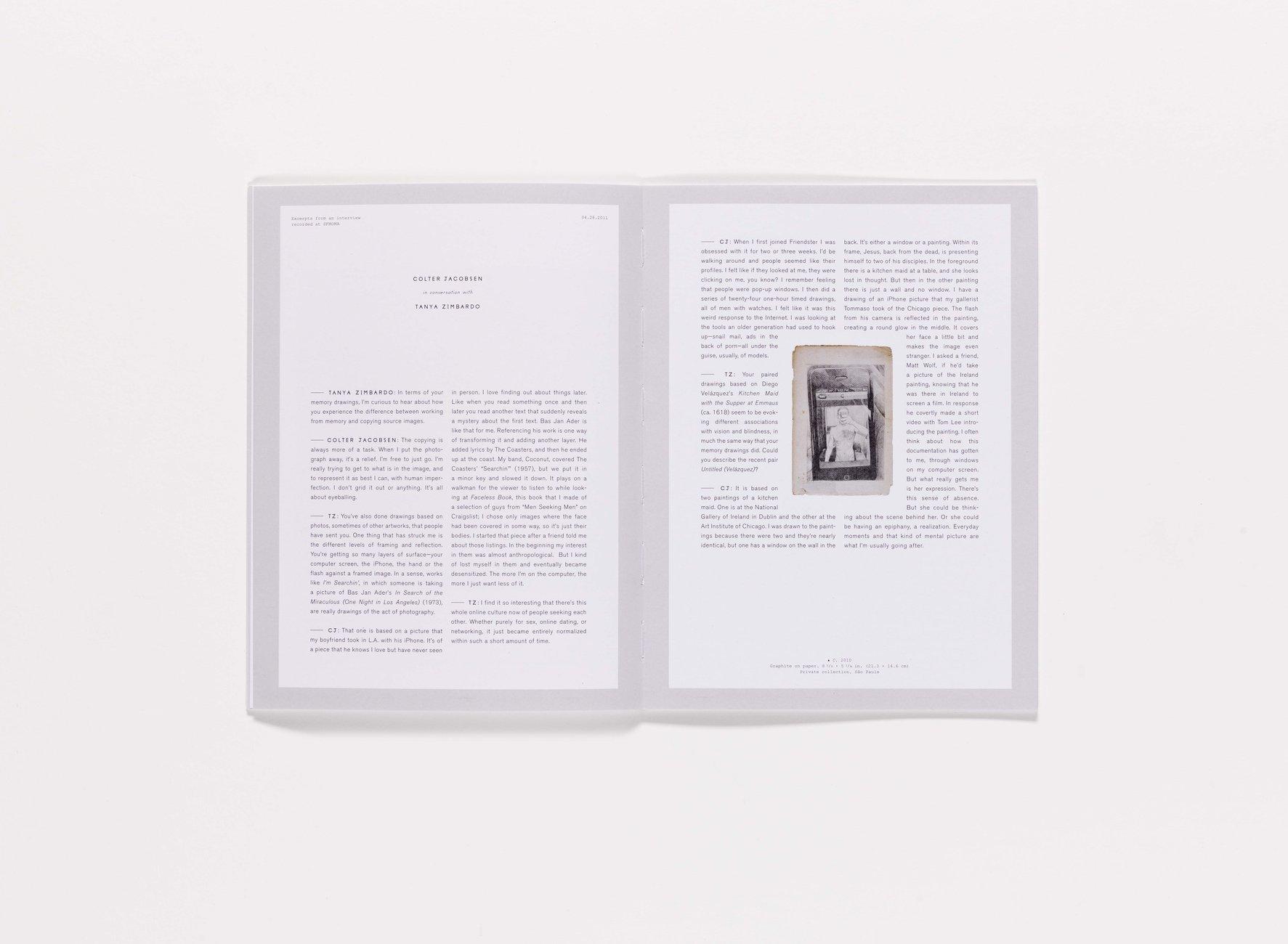 2010 SECA Art Award publication pages 18-19