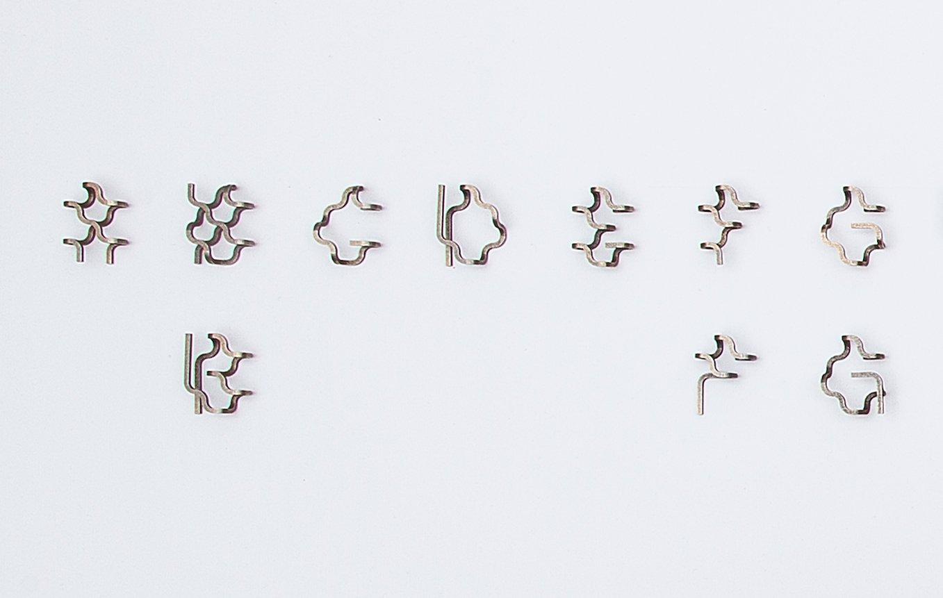 Artwork image, Tauba Auerbach, ZS letters