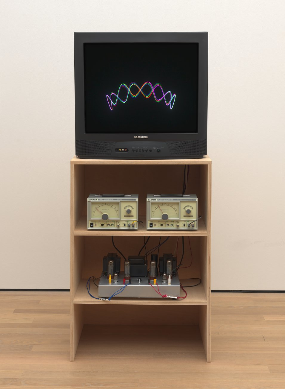 Artwork image, Nam June Paik's TV Crown