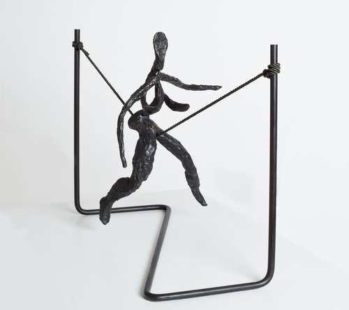 Tightrope Worker (Woman on Cord)