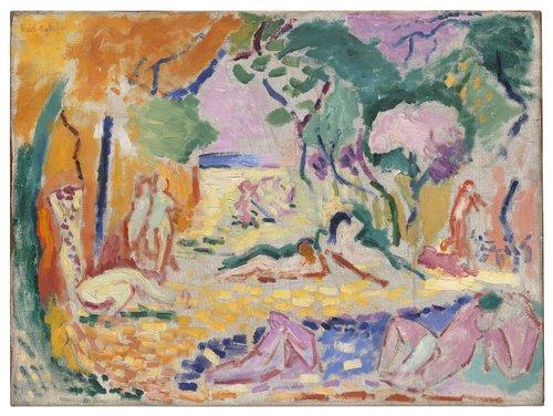 """Sketch for """"Le Bonheur de vivre"""" (""""The Joy of Life"""")"""