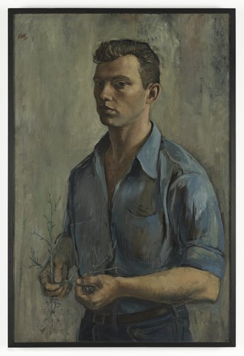 Self-Portrait with Thorn