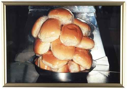 Untitled [buns in plastic], from the series British Food