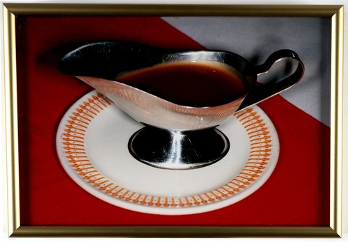 Untitled [metal gravy dish], from the series British Food