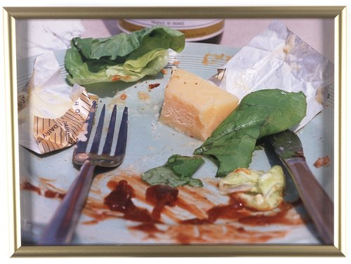 Untitled [unfinished salad], from the series British Food
