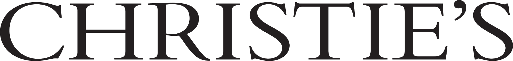 Christie's logo with transparency