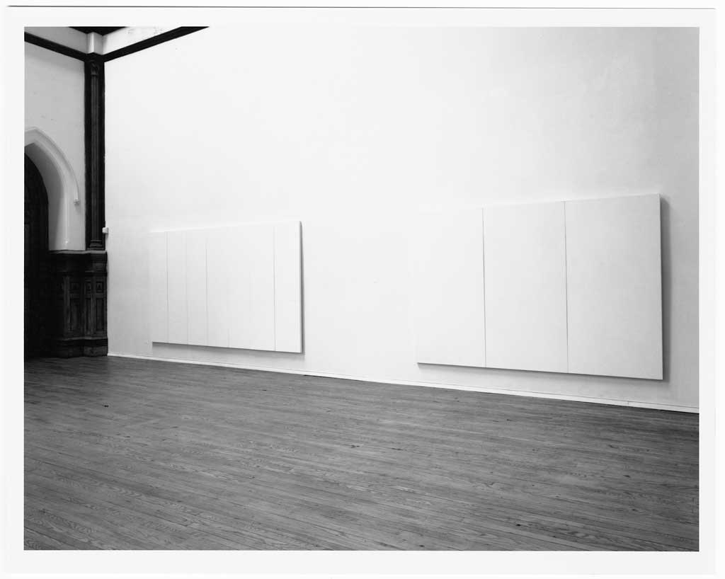 Installation View Of Robert Rauschenberg S White Painting