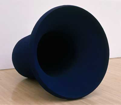 Anish Kapoor, Hole, 1988; Collection SFMOMA, gift of Mrs. Milo Gates; © Anish Kapoor