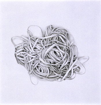 Rosana Castrillo Diaz, _Untitled_, 2004. Graphite on paper. Collection SFMOMA