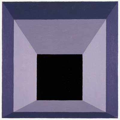 Josef Albers, Homage to the Square, 1962; Collection SFMOMA, gift of Mrs. Anni Albers and The Josef Albers Foundation © 2009 The Josef and Anni Albers Foundation / Artists Rights Society (ARS), New York